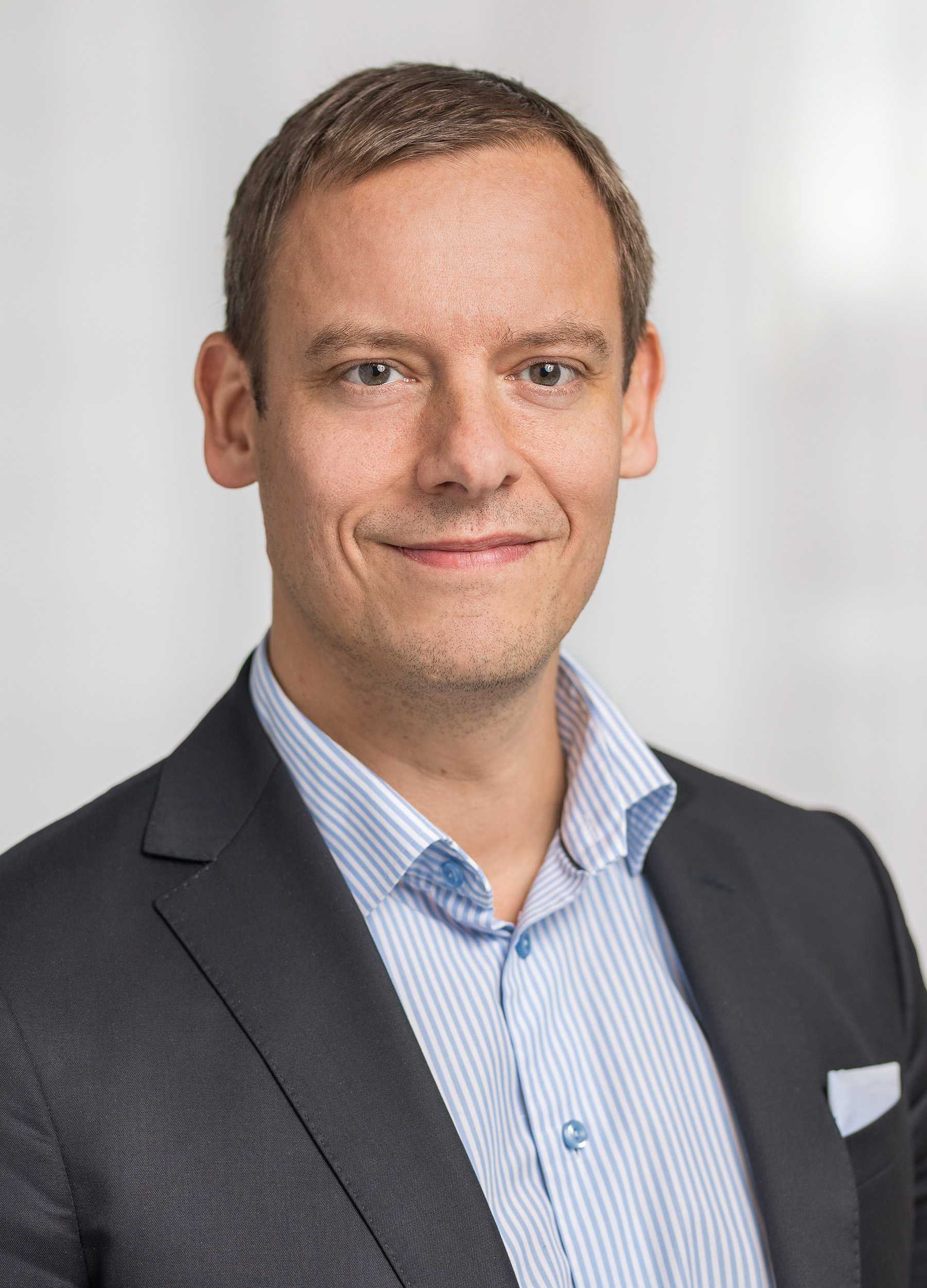 Bild Jens Grebäck, head of sales på Swedbank Robur